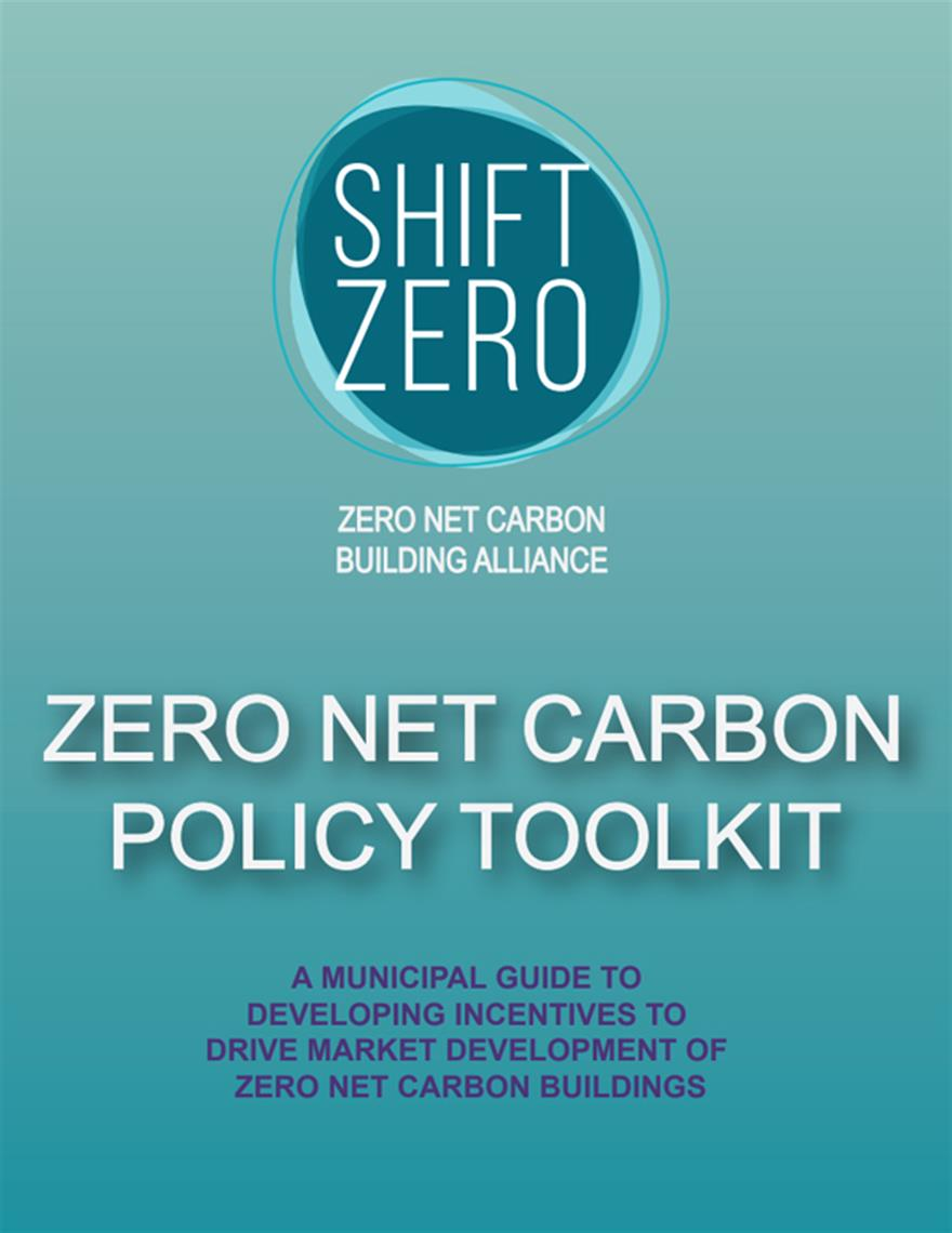 Zero Net Carbon Policy Toolkit