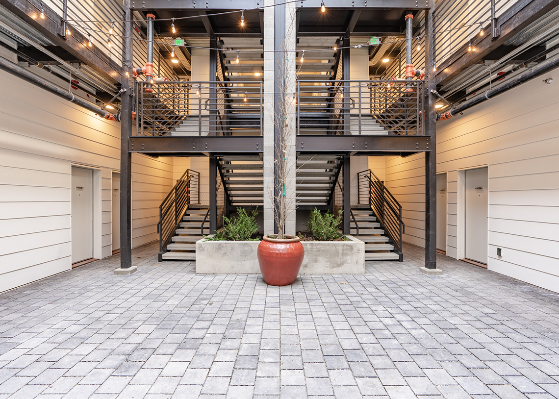 Built Green Hammer Awards, Project of the Year—NOCO Flats, Photo: True One Group LLC