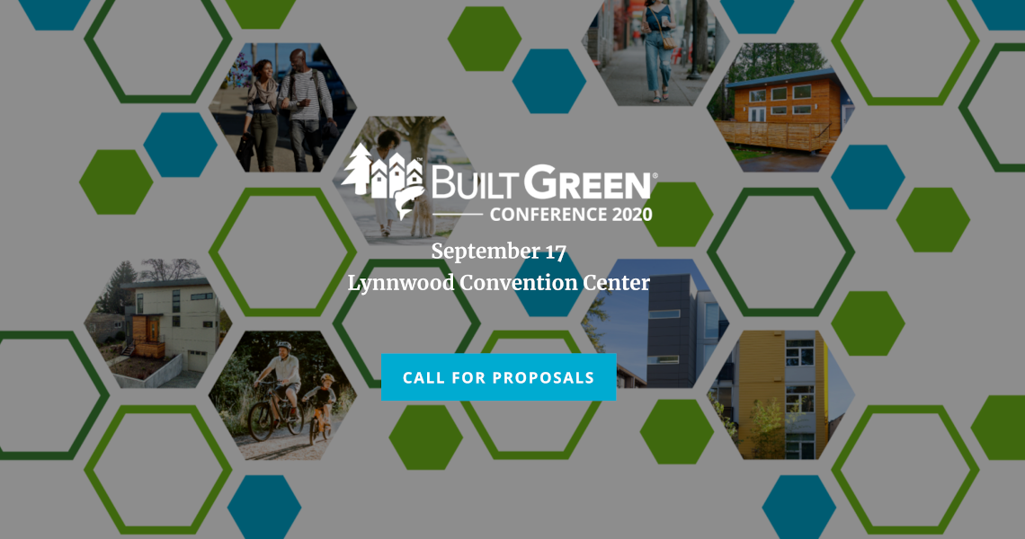 Built Green Call for Proposals