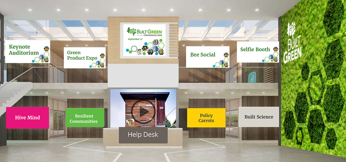 Virtual Conference Lobby