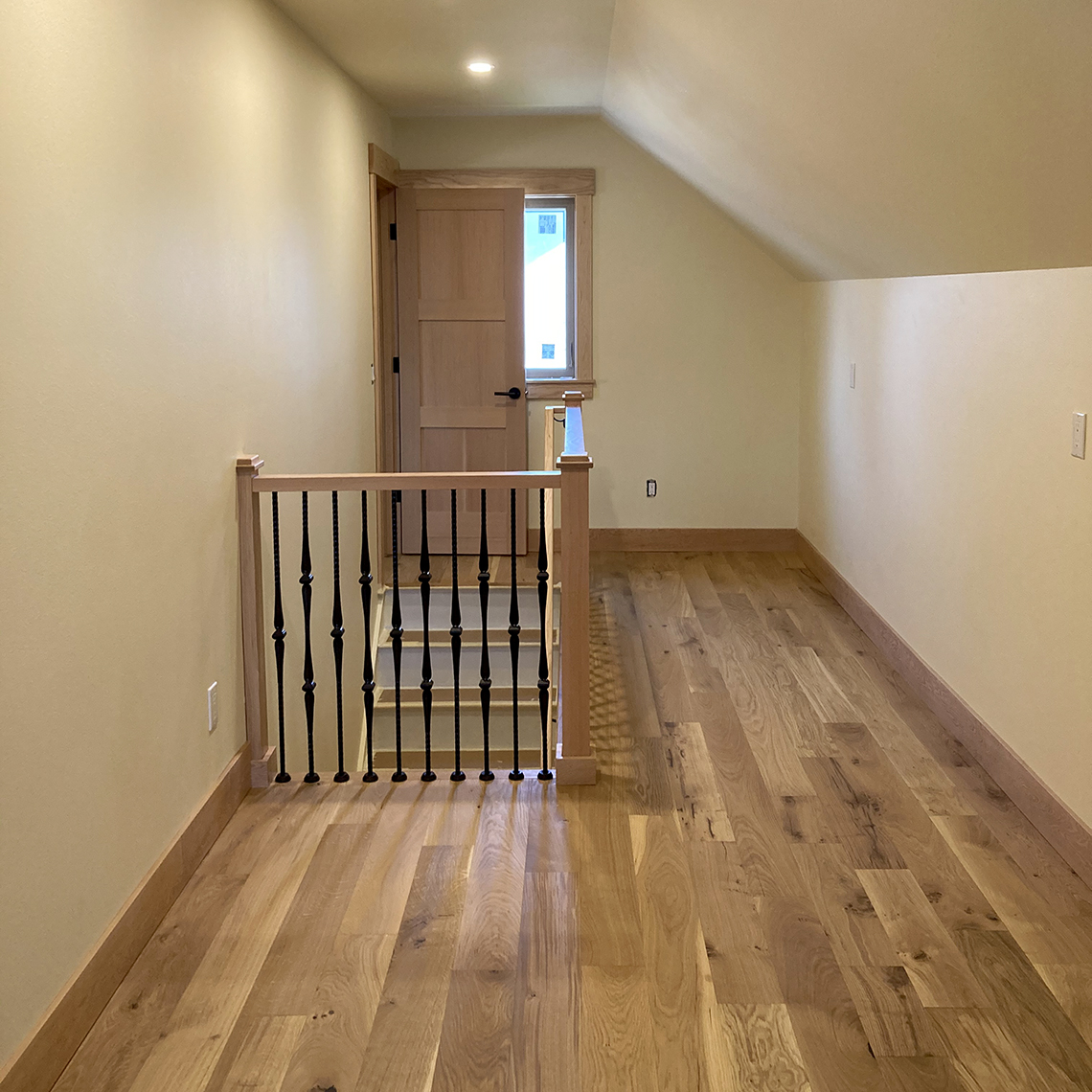 Brett Marlo Design Build Built Green 4-Star Tacoma remodel upstairs hallway